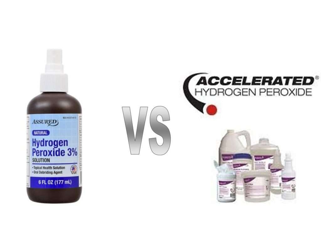 Is the Hydrogen Peroxide you buy at the drug store the same as Accelerated Hydrogen Peroxide?